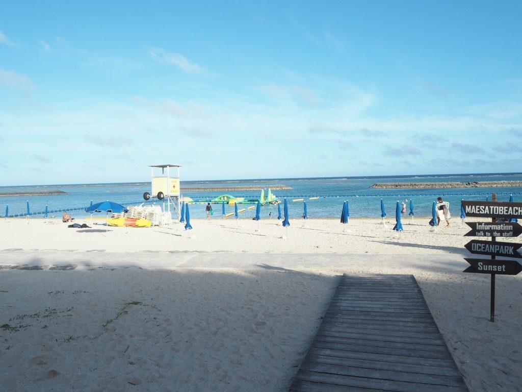 マエサトビーチ 砂浜