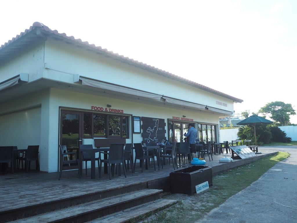 マエサトビーチ 売店