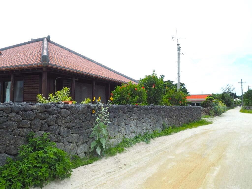 竹富島 伝統的家屋