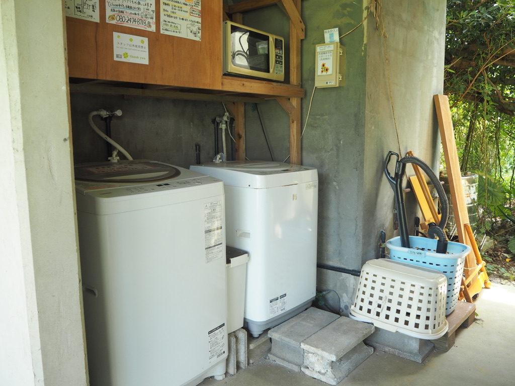 ハウス美波 洗濯機