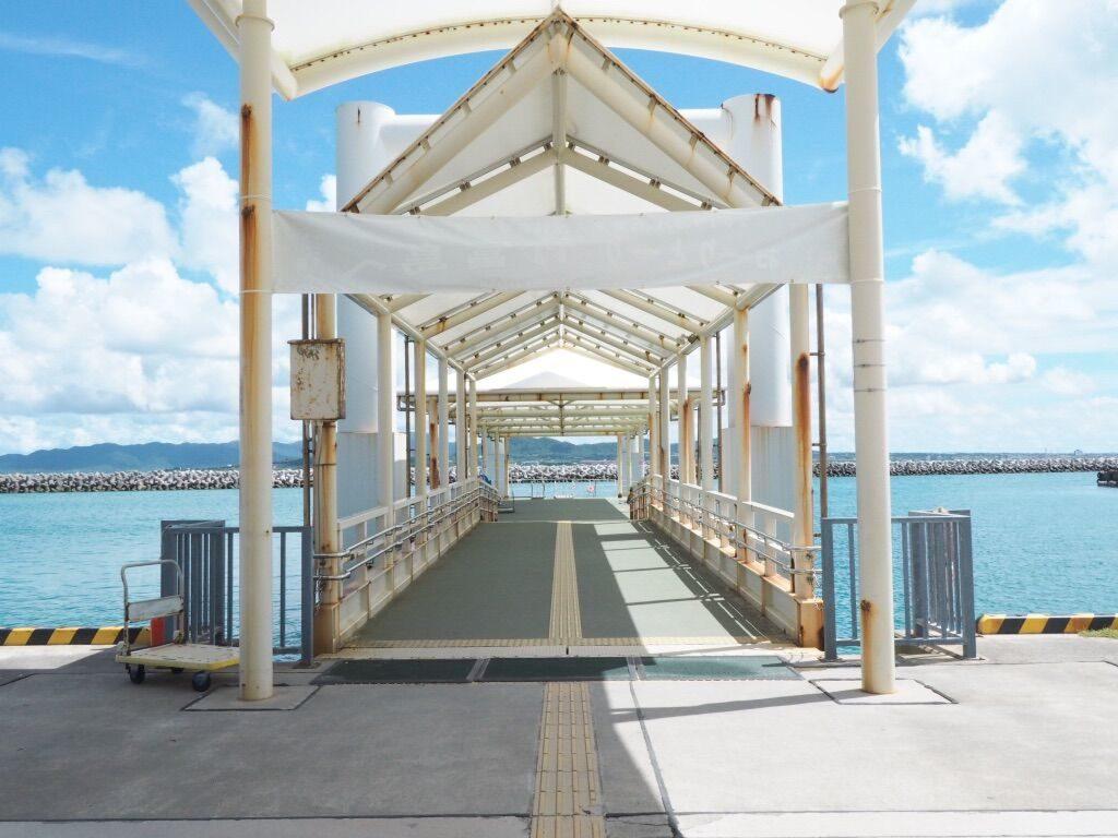 竹富島港 海