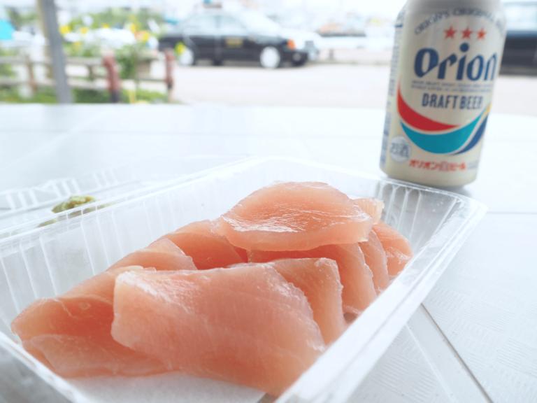 マルハ鮮魚 マグロとビール