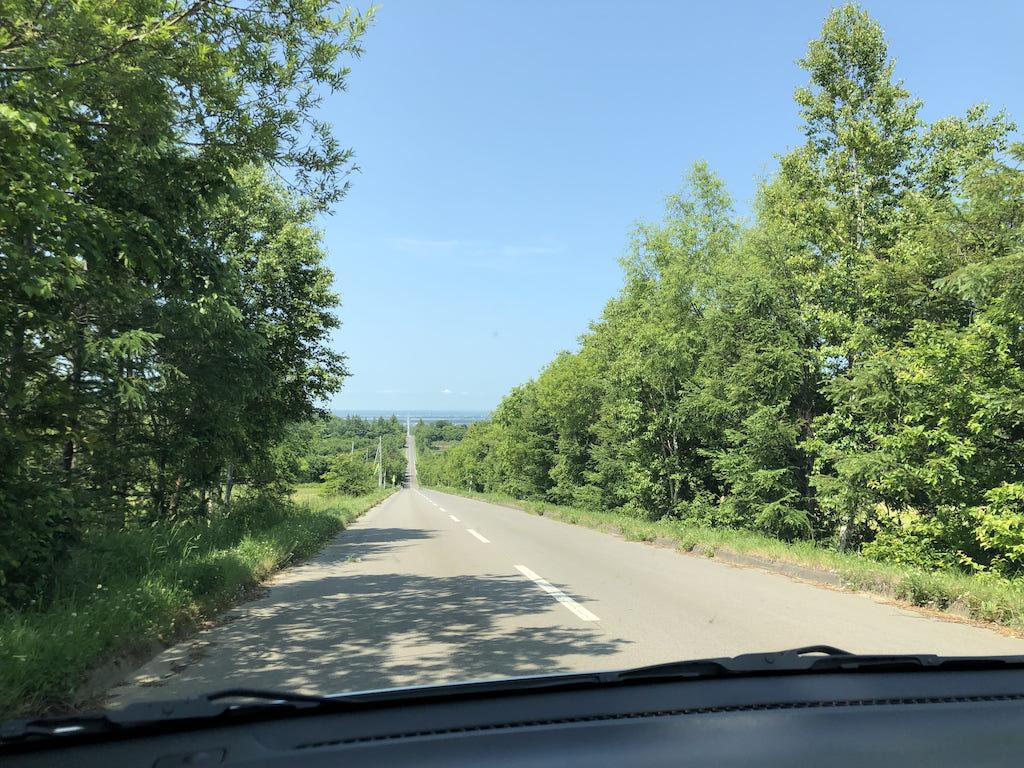 天に続く道 ドライブ