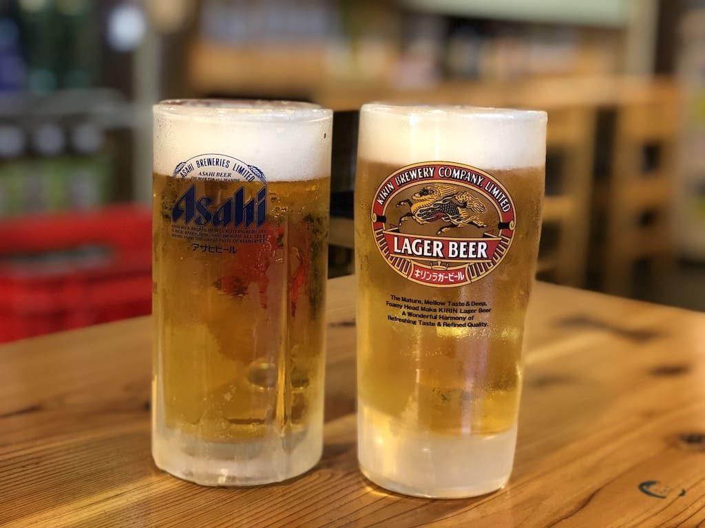 ひろめ市場 ビール