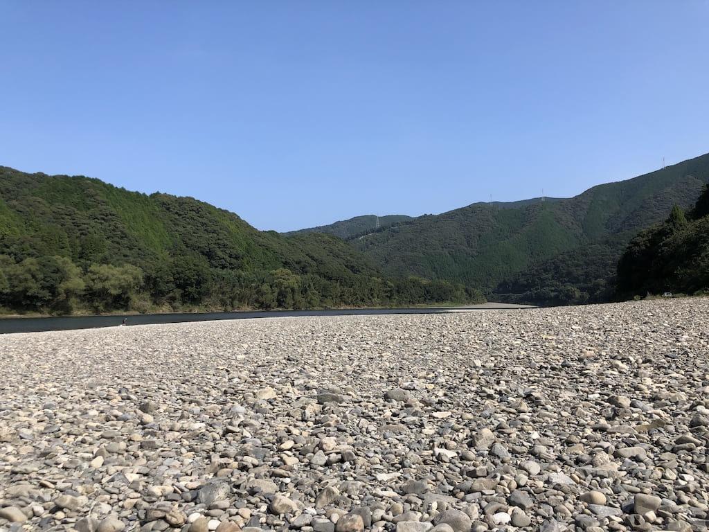 四万十川 河原