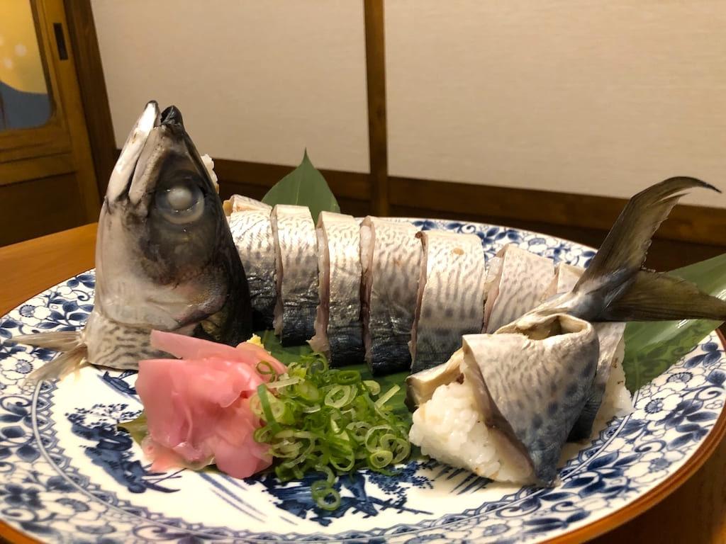 清水さばの姿寿司 一尾