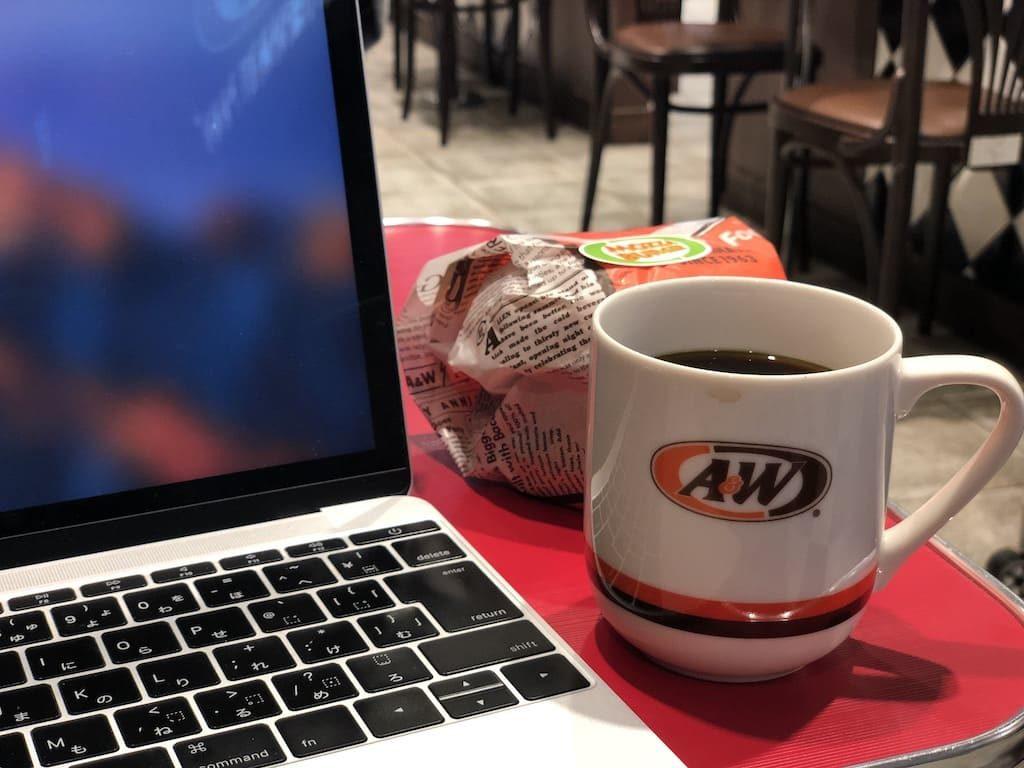 A&W コーヒー