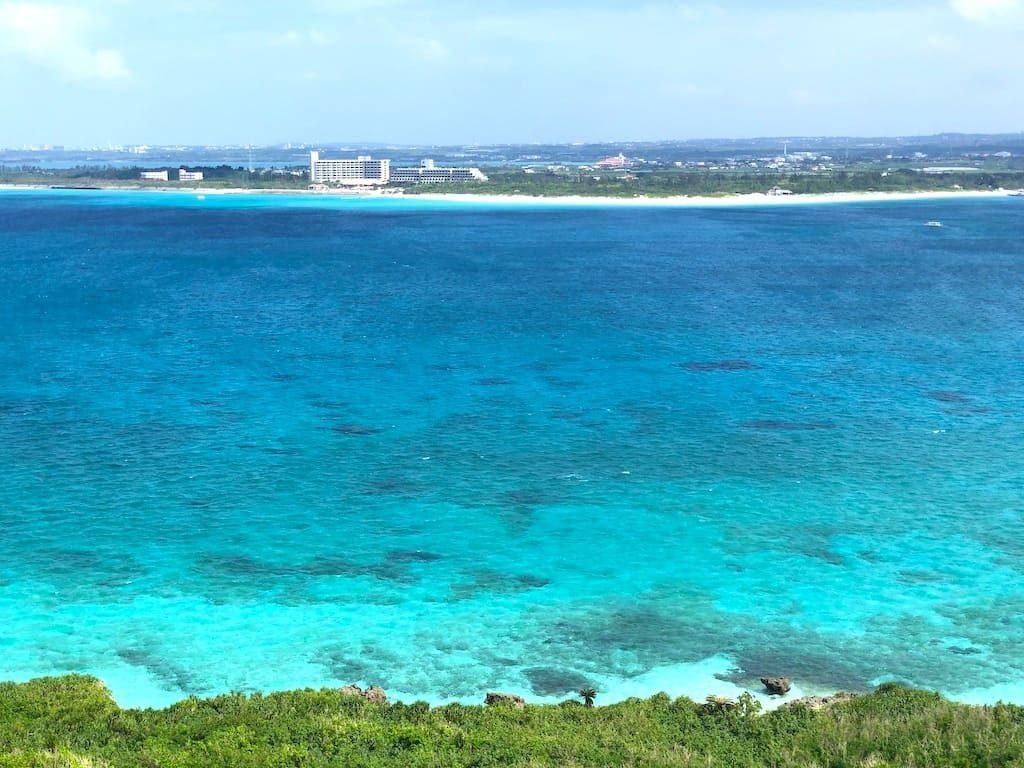 景色 前浜ビーチ