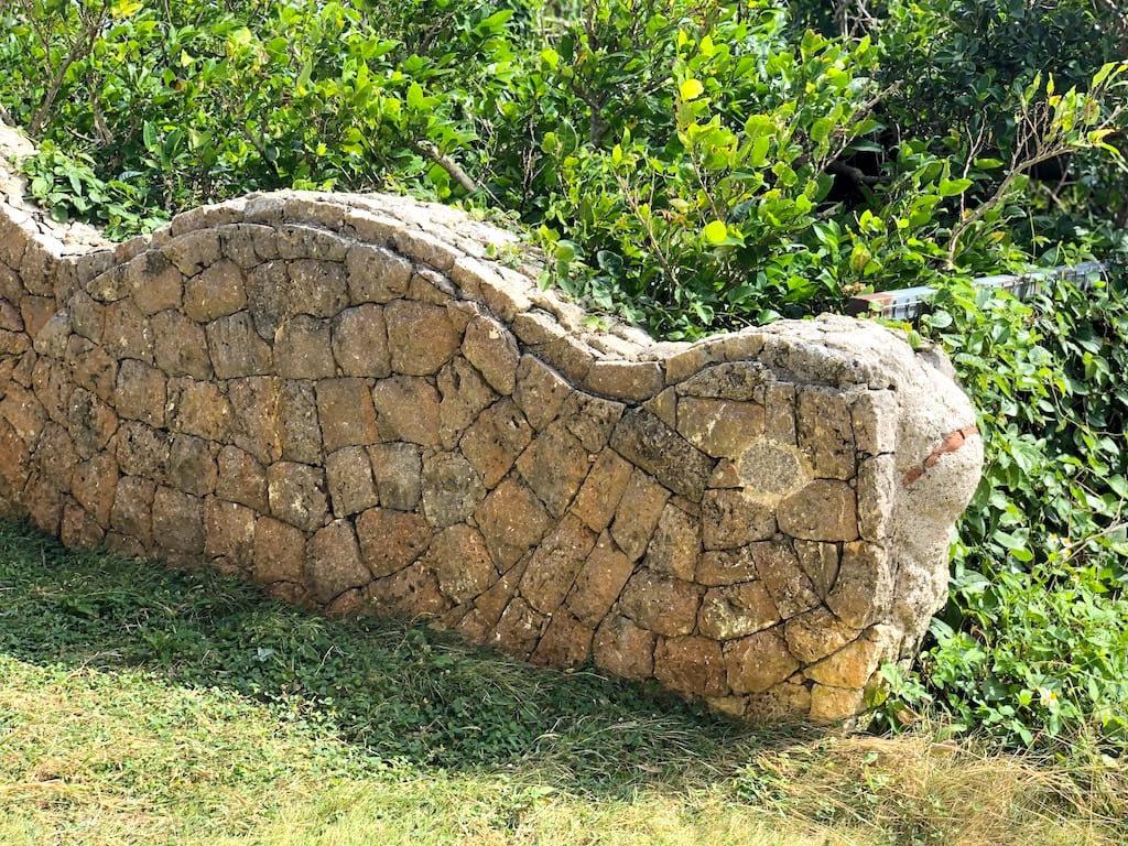 カメの石垣