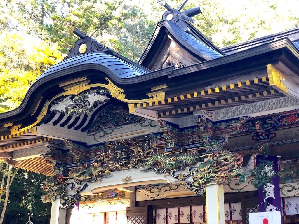 宝登山神社 彫刻