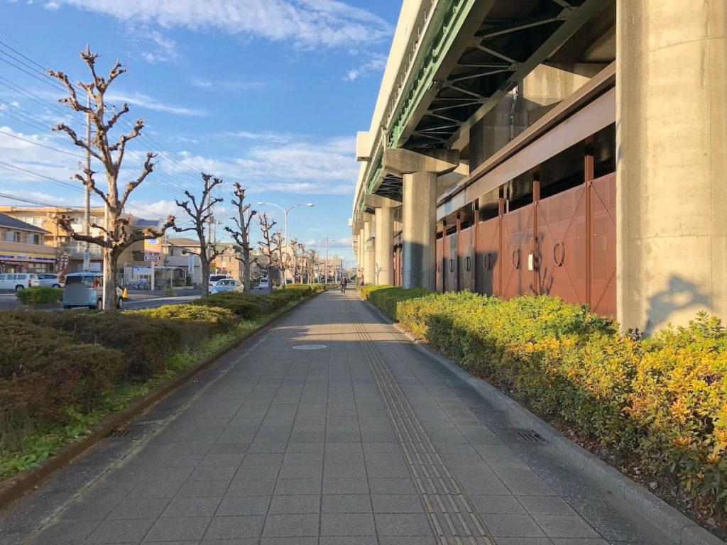 鉄道博物館駅 行き方①