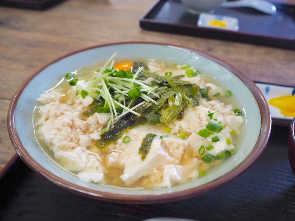 ぶっかけゆし豆腐
