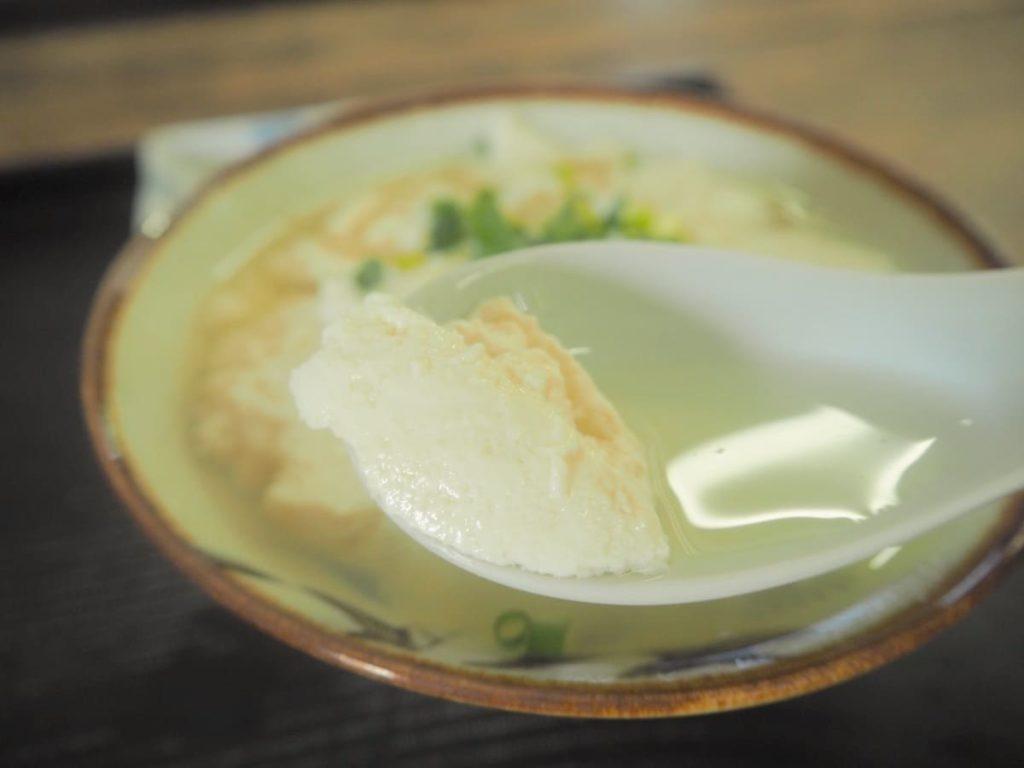 ゆし豆腐 レンゲ
