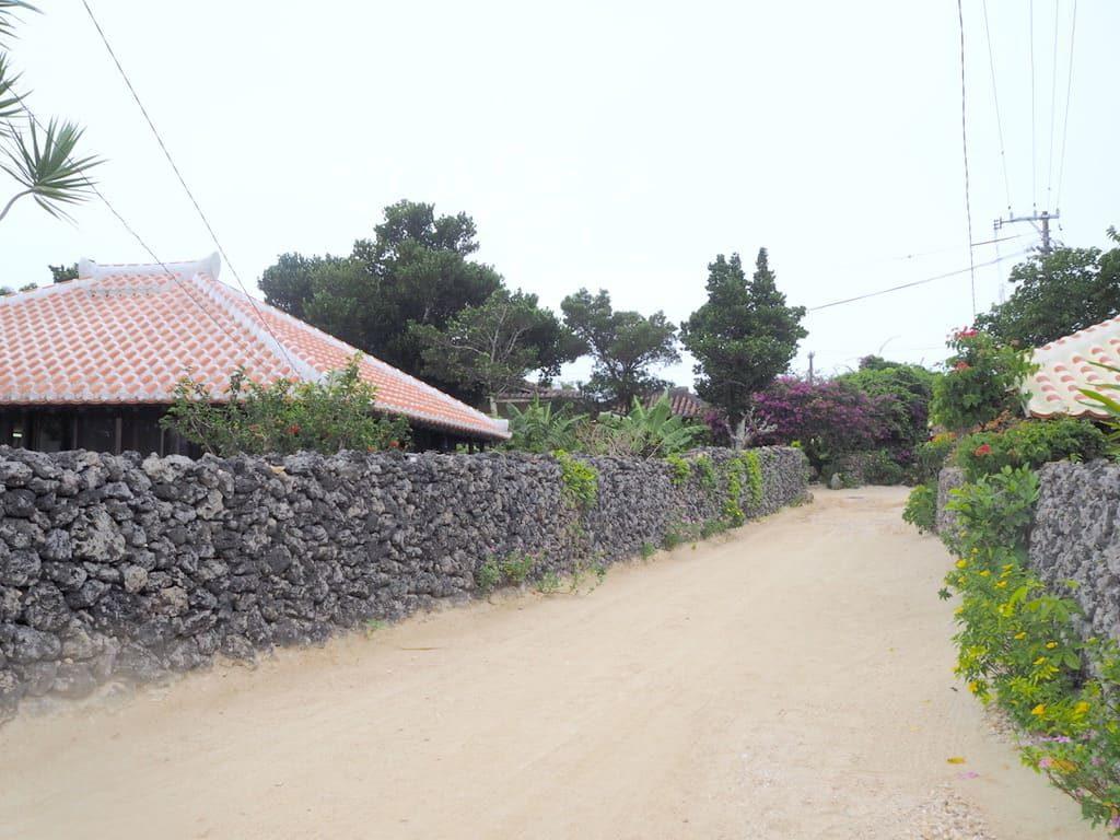 竹富島 道路