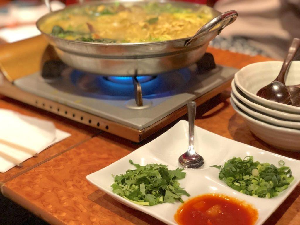 ヒマラヤ鍋 薬味