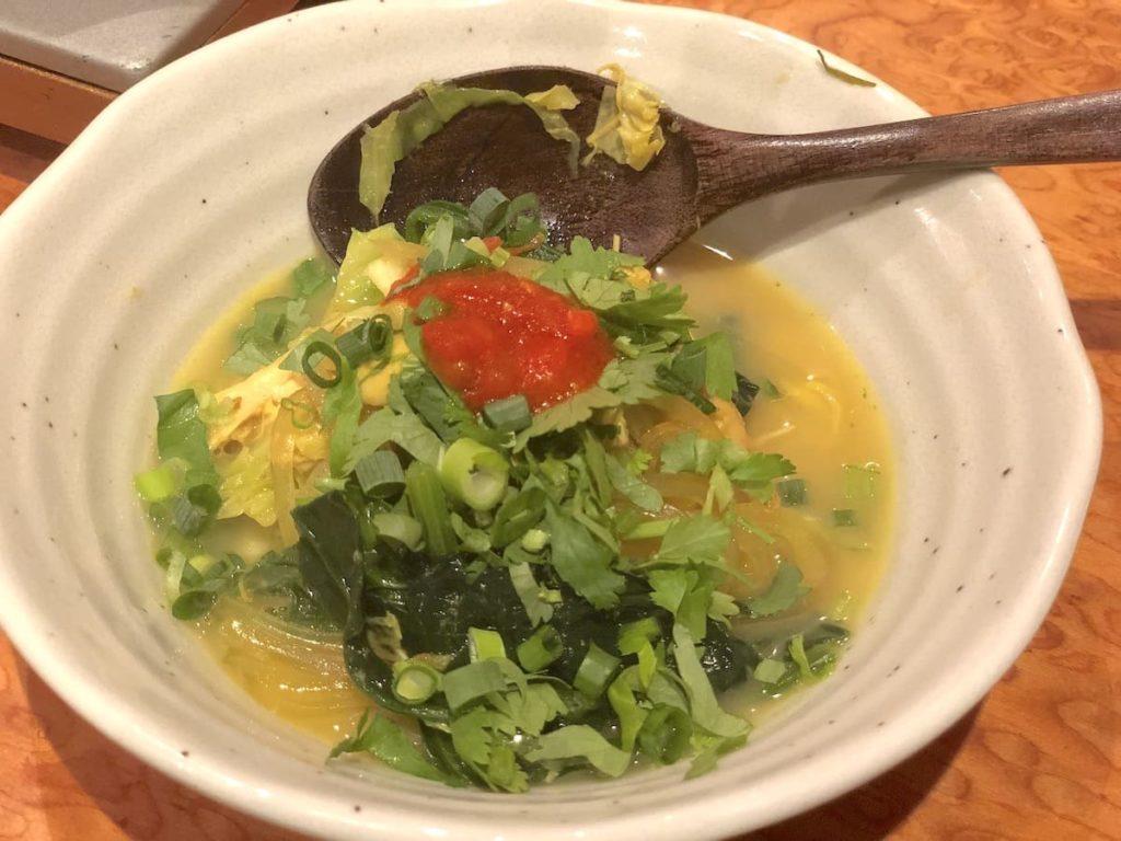 ヒマラヤ鍋 食レポ