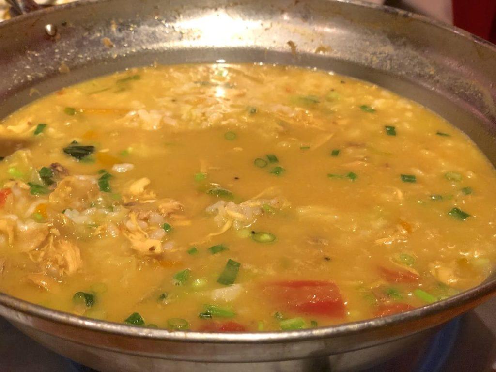 ヒマラヤ鍋 雑炊