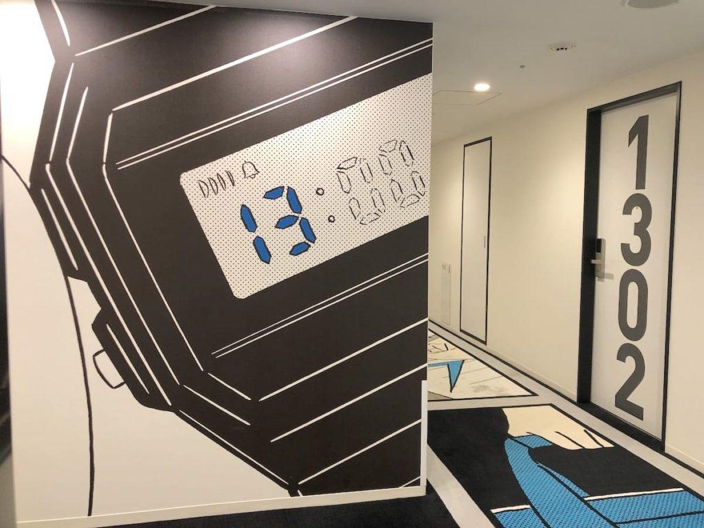 13階 エレベーター前