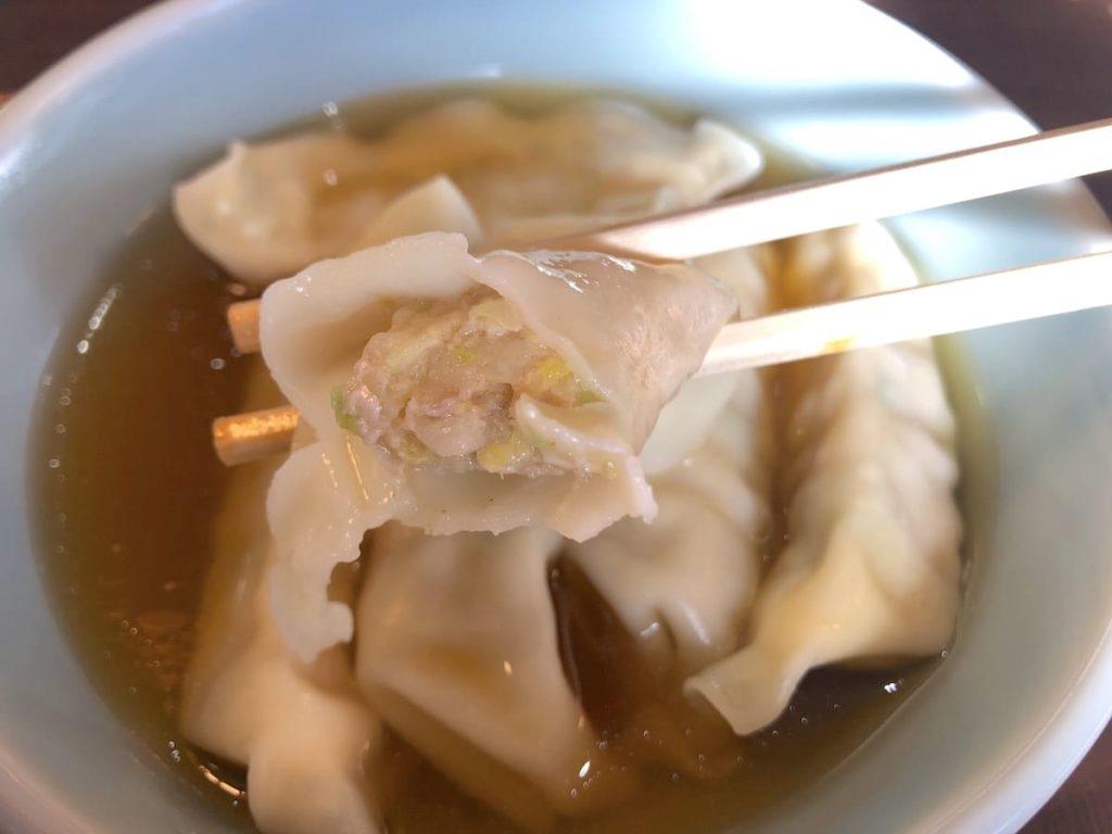 水餃子 スープ