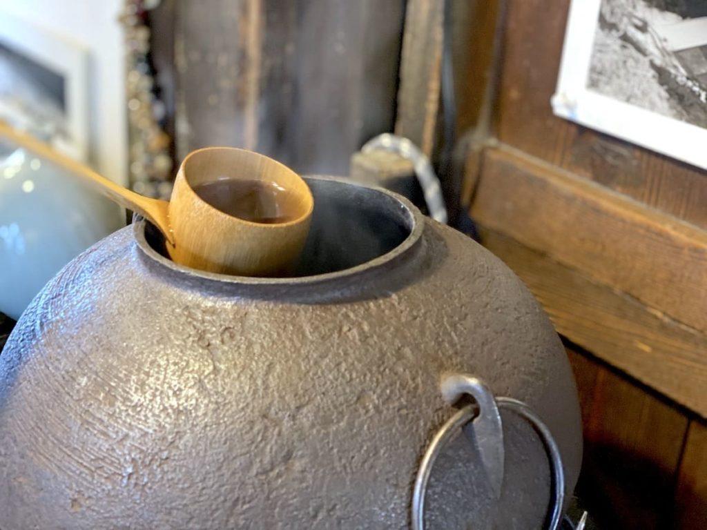 阿左美冷蔵 金崎本店 茶瓶