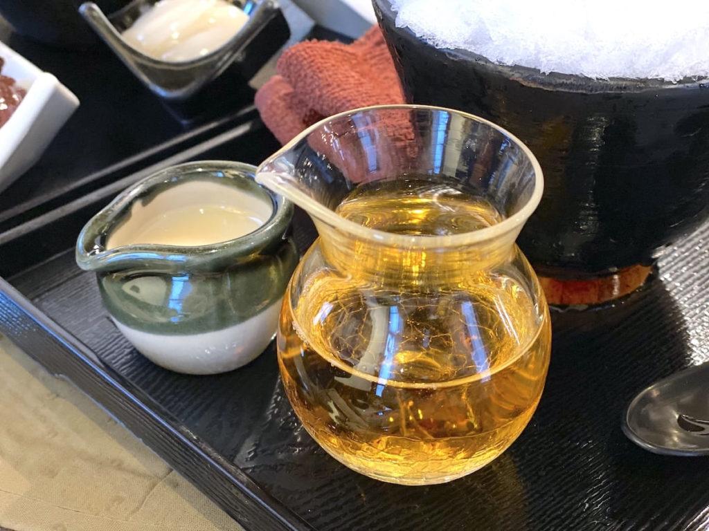 アールグレイ紅茶のシロップ