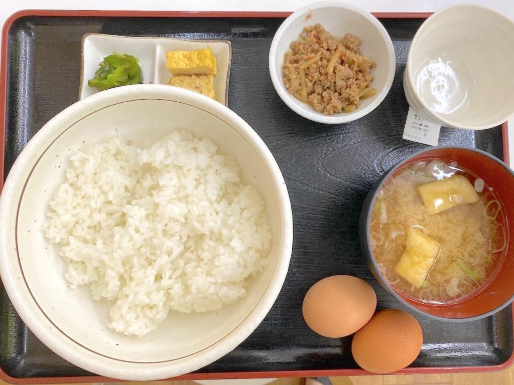 卵かけごはんセット(400円)