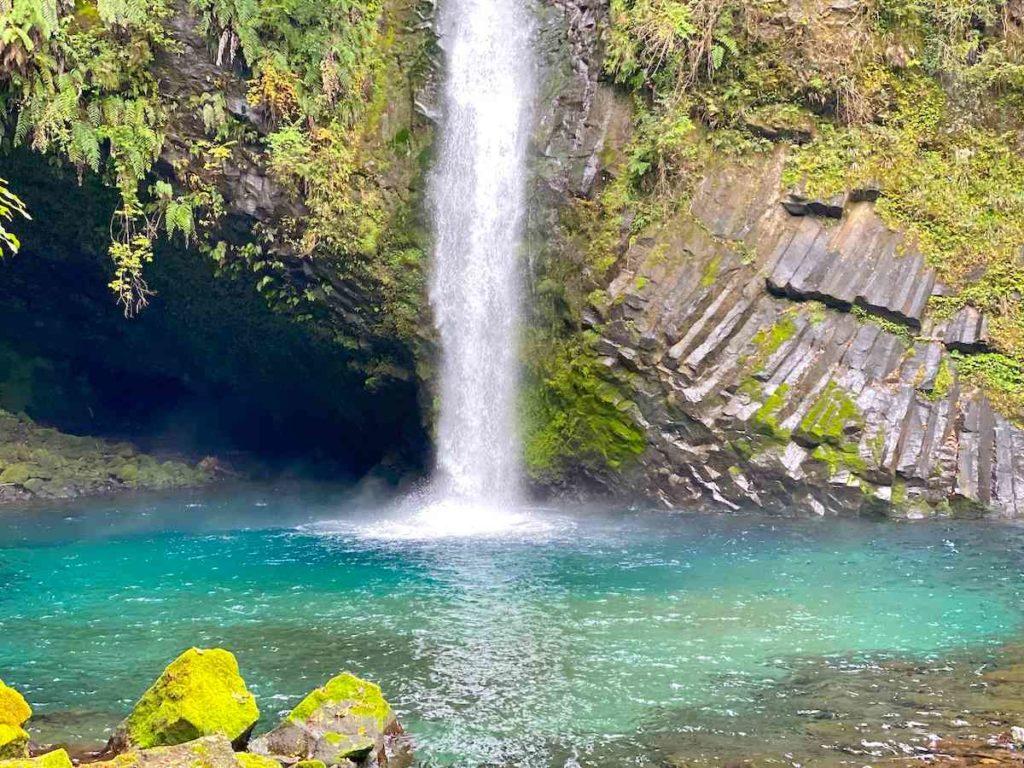浄蓮の滝 滝ツボ