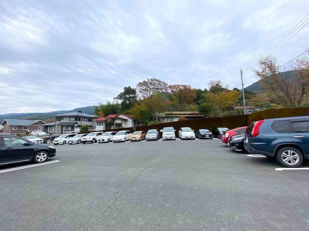 浄蓮の滝 駐車場